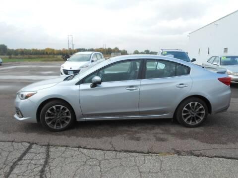 2020 Subaru Impreza for sale at Salmon Automotive Inc. in Tracy MN