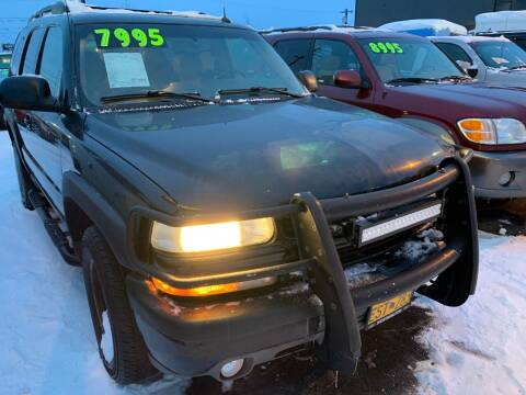2004 Chevrolet Tahoe for sale at ALASKA PROFESSIONAL AUTO in Anchorage AK