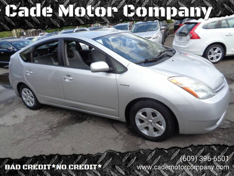 2008 Toyota Prius for sale at Cade Motor Company in Lawrenceville NJ