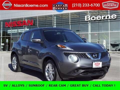 2016 Nissan JUKE for sale at Nissan of Boerne in Boerne TX