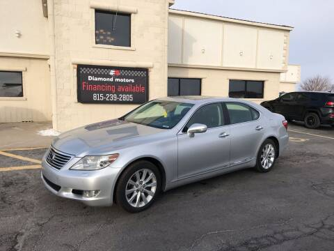 2010 Lexus LS 460 for sale at Diamond Motors in Pecatonica IL