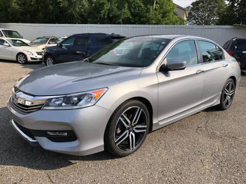 2017 Honda Accord for sale at SKY AUTO SALES in Detroit MI