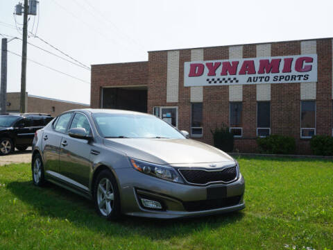 2015 Kia Optima for sale at DYNAMIC AUTO SPORTS in Addison IL