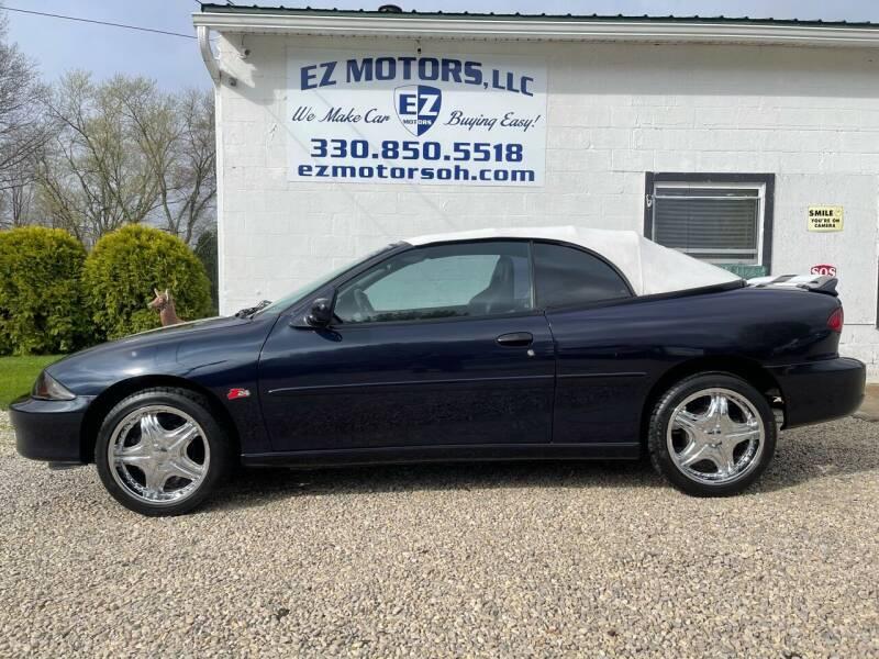 2000 Chevrolet Cavalier for sale at EZ Motors in Deerfield OH