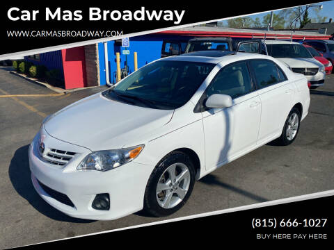 2013 Toyota Corolla for sale at Car Mas Broadway in Crest Hill IL