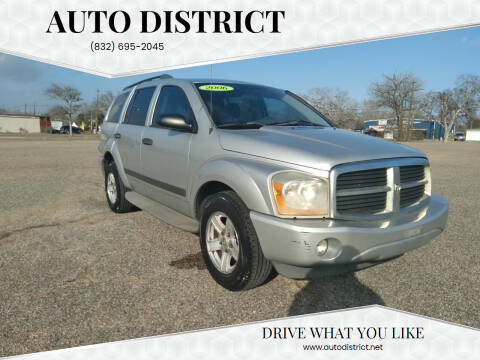 2006 Dodge Durango for sale at Auto District in Baytown TX