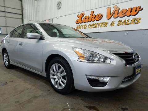 2013 Nissan Altima for sale at Lake View Auto Center in Oshkosh WI