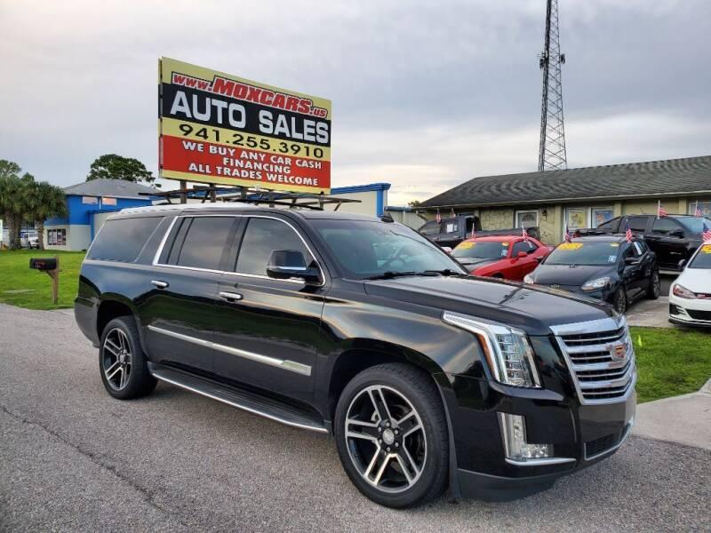 2016 Cadillac Escalade ESV for sale at Mox Motors in Port Charlotte FL