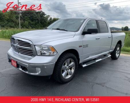 2017 RAM Ram Pickup 1500 for sale at Jones Chevrolet Buick Cadillac in Richland Center WI
