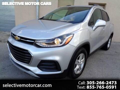 2018 Chevrolet Trax for sale at Selective Motor Cars in Miami FL