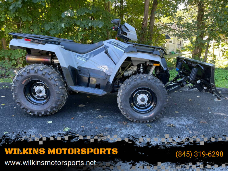 2019 Polaris Sportsman 570 Utility EPS for sale at WILKINS MOTORSPORTS in Brewster NY