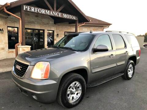 2008 GMC Yukon for sale at Performance Motors Killeen Second Chance in Killeen TX
