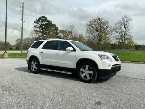 2012 GMC Acadia for sale at GTO United Auto Sales LLC in Lawrenceville GA