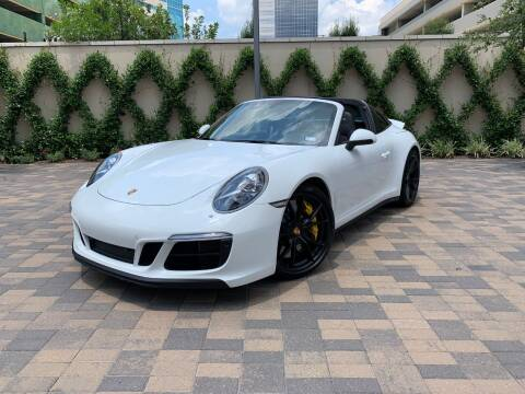 2018 Porsche 911 for sale at ROGERS MOTORCARS in Houston TX