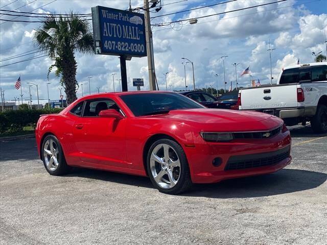2014 Chevrolet Camaro for sale at Winter Park Auto Mall in Orlando FL