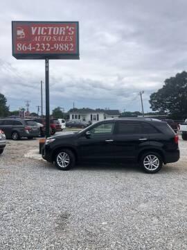 2015 Kia Sorento for sale at Victor's Auto Sales in Greenville SC