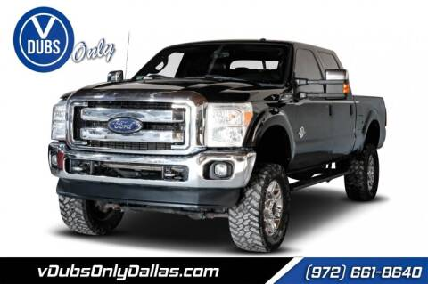 2013 Ford F-250 Super Duty for sale at VDUBS ONLY in Dallas TX