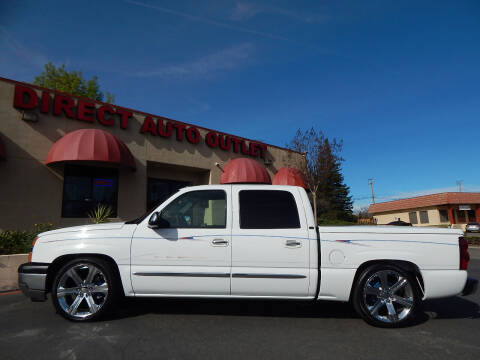 2005 Chevrolet Silverado 1500 for sale at Direct Auto Outlet LLC in Fair Oaks CA
