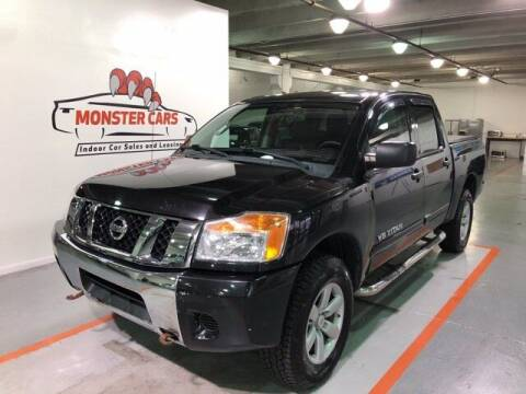2012 Nissan Titan for sale at Monster Cars in Pompano Beach FL