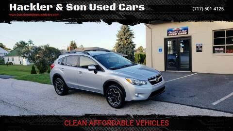 2014 Subaru XV Crosstrek for sale at Hackler & Son Used Cars in Red Lion PA