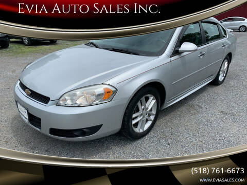 2013 Chevrolet Impala for sale at Evia Auto Sales Inc. in Glens Falls NY