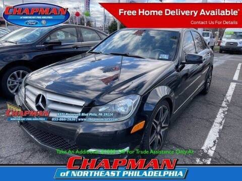 2013 Mercedes-Benz C-Class for sale at CHAPMAN FORD NORTHEAST PHILADELPHIA in Philadelphia PA