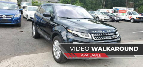 2016 Land Rover Range Rover Evoque for sale at Moor's Automotive in Hackettstown NJ