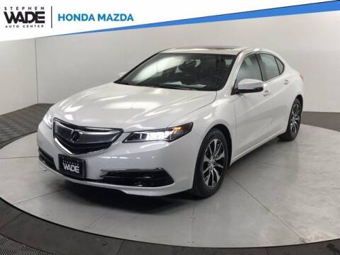 2015 Acura TLX for sale at Stephen Wade Pre-Owned Supercenter in Saint George UT