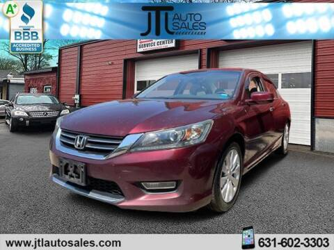 2013 Honda Accord for sale at JTL Auto Inc in Selden NY