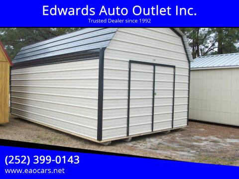 2021 Xx Old Hickory Buildings 12x20 Lofted Metal Barn for sale at Edwards Auto Outlet Inc. in Wilson NC