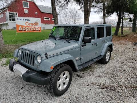 2014 Jeep Wrangler Unlimited for sale at Caulfields Family Auto Sales in Bath PA