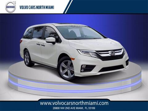 2018 Honda Odyssey for sale at Volvo Cars North Miami in Miami FL