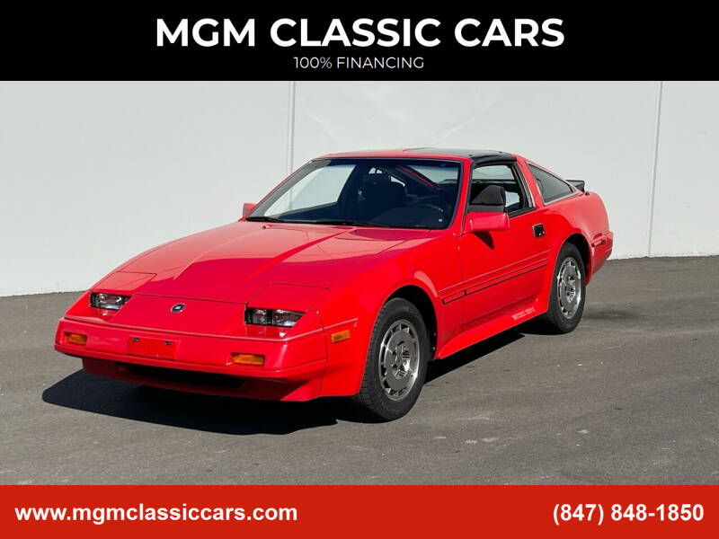 1986 Nissan 300ZX for sale at MGM CLASSIC CARS-New Arrivals in Addison IL