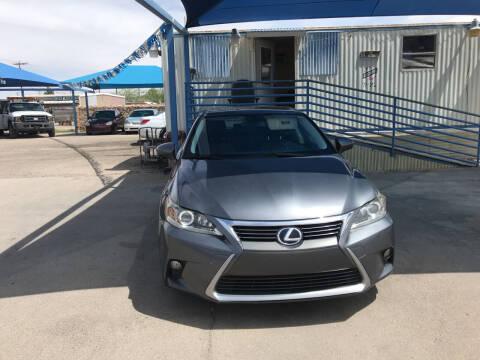 2014 Lexus CT 200h for sale at Autos Montes in Socorro TX