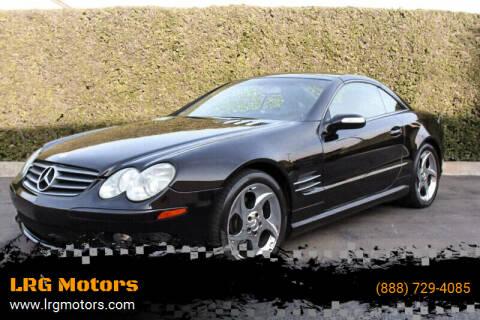 2004 Mercedes-Benz SL-Class for sale at LRG Motors in Montclair CA