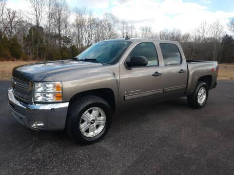 2012 Chevrolet Silverado 1500 for sale at CARS PLUS in Fayetteville TN