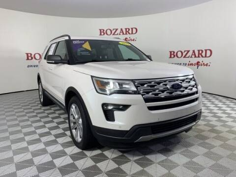 2019 Ford Explorer for sale at BOZARD FORD in Saint Augustine FL