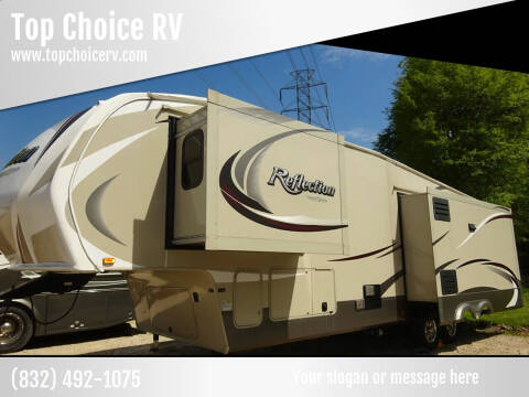2015 Grand Design  Reflection 337 RLS, 3 Slides for sale at Top Choice RV in Spring TX