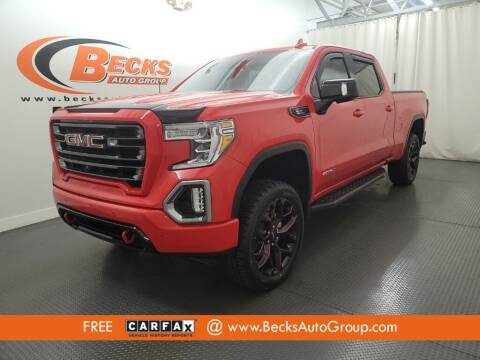 2021 GMC Sierra 1500 for sale at Becks Auto Group in Mason OH