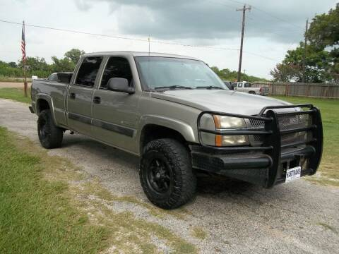 2003 Chevrolet Silverado 2500HD for sale at Hartman's Auto Sales in Victoria TX