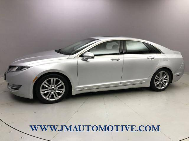2015 Lincoln MKZ for sale at J & M Automotive in Naugatuck CT