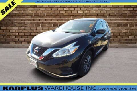 2016 Nissan Murano for sale at Karplus Warehouse in Pacoima CA