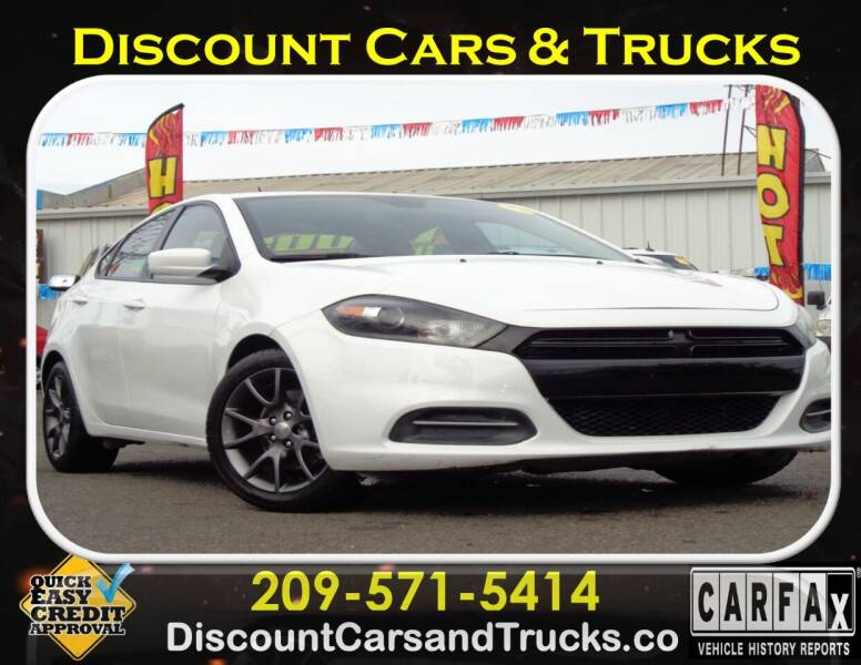 2016 Dodge Dart for sale at Discount Cars & Trucks in Modesto CA