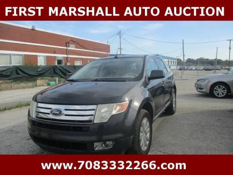 2007 Ford Edge for sale at First Marshall Auto Auction in Harvey IL
