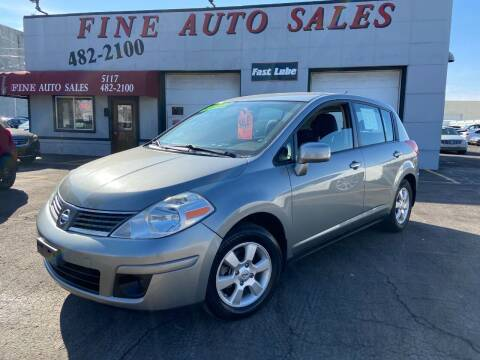 2009 Nissan Versa for sale at Fine Auto Sales in Cudahy WI