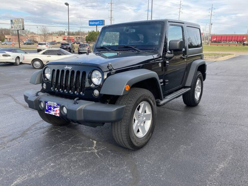 2014 Jeep Wrangler for sale at Auto Outlets USA in Rockford IL