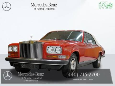 1978 Rolls-Royce Camargue for sale at Mercedes-Benz of North Olmsted in North Olmstead OH