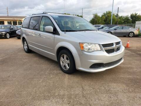 2012 Dodge Grand Caravan for sale at Zora Motors in Houston TX
