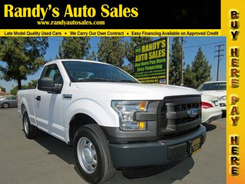 2015 Ford F-150 for sale at Randy's Auto Sales in Ontario CA