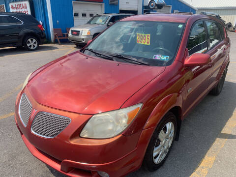2005 Pontiac Vibe for sale at BURNWORTH AUTO INC in Windber PA